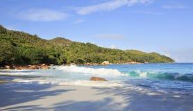 Beautiful beach Anse Lazio Royalty Free Stock Images