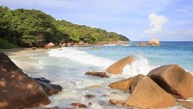 Beautiful beach Anse Lazio Royalty Free Stock Image