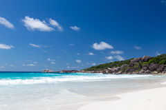 Beautiful beach Anse Lazio Royalty Free Stock Photo