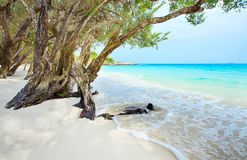 Beautiful beach of Ao Wai Koh Samen sea national park in Rayong Royalty Free Stock Photo
