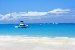 Free Beautiful Beach, Atlantic Ocean And Boat Stock Photo - 19374020