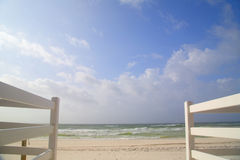 Beautiful beach  background Stock Photos