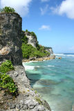 Beautiful beach in Bali Stock Photos