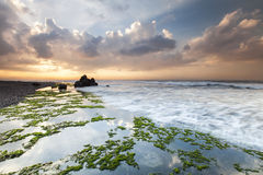 Beautiful beach in Bali, Indonesia. Royalty Free Stock Photo