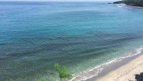 Beautiful beach in Bali, Indonesia. Beautiful beach at the sunny day in Bali, Indonesia stock footage