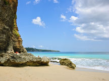 Beautiful beach in Bali island, Indonesia Stock Image