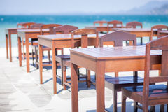 Beautiful Beach Bar view Stock Photos