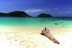Beautiful beach and blue sea, Koh Lipe Royalty Free Stock Photo