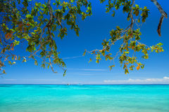 Beautiful beach with blue sea at Tachai island, South of Thailand Stock Image