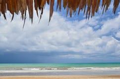 Beautiful beach and blue sky Royalty Free Stock Photo