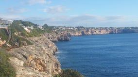 Mallorca blue water beach Royalty Free Stock Photos
