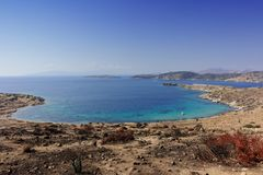Beach of Bodrum Stock Photography