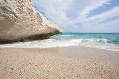 Beautiful beach at Cala Luna, Sardinia Royalty Free Stock Photo