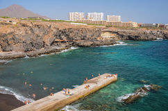 Beautiful beach in Callao Salvaje on Tenerife Royalty Free Stock Photo
