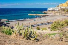 Beautiful beach in Callao Salvaje on Tenerife Royalty Free Stock Photos