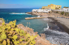 Beautiful beach in Callao Salvaje on Tenerife Royalty Free Stock Image