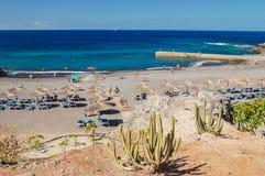 Beautiful beach in Callao Salvaje on Tenerife Stock Photos