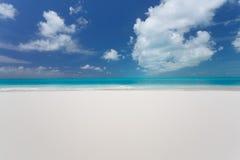 Beautiful beach of caribbean sea Royalty Free Stock Photos