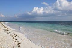 Beautiful beach of the Caribbean sea Stock Photography