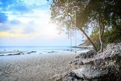 Beautiful beach, Chonburi Thailand Stock Photo