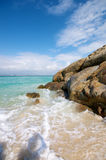 Beautiful beach Cliff Royalty Free Stock Photography