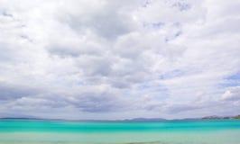 Beautiful Beach and cloud  Scene Royalty Free Stock Photo