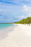 Beautiful beach at Coco Key in Cuba Royalty Free Stock Images