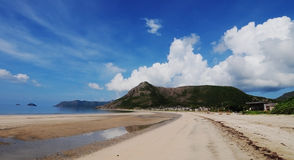 A beautiful beach in Con Dao, Vietnam.  Stock Images