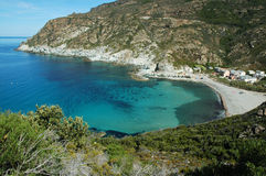 Beautiful beach in Corsica Royalty Free Stock Photography