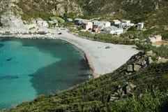 Beautiful beach in Corsica Stock Photography