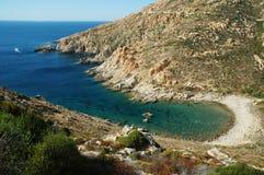 Beautiful beach in Corsica Royalty Free Stock Photo