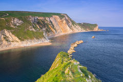 Beautiful beach of county Dorset, UK Stock Photography