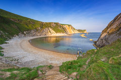 Beautiful beach of county Dorset, UK Royalty Free Stock Image