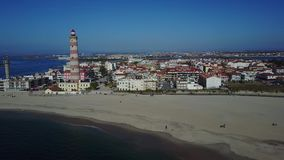 Beautiful beach stock footage
