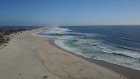 Beautiful beach stock video