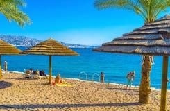 The beautiful beach Stock Photo
