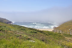 Beautiful beach in Galicia Spain Royalty Free Stock Photos