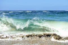 Beautiful beach in Galicia Spain Stock Photos
