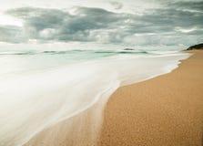 Beautiful beach in Galicia, Spain. Stock Photo