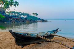 Beautiful beach of Goa Palolem Stock Image