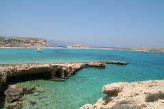 Beautiful beach - greece islands Stock Image