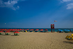 Beautiful Beach of Haeundae, Busanm, Korea Stock Images