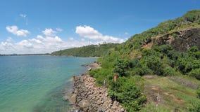 Beautiful beach in hikkaduwa Royalty Free Stock Photography
