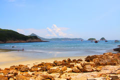 Beautiful beach in Hong Kong at summer time Stock Photo