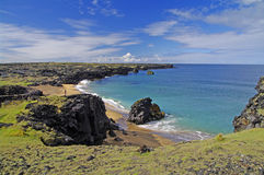 Beautiful beach, Iceland Royalty Free Stock Images