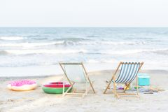 Free Beautiful Beach In The Summertime Royalty Free Stock Images - 119923119