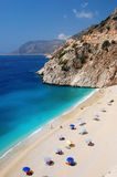 Beautiful Beach In Turkey Royalty Free Stock Photography