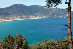 Beautiful beach on island Stock Image