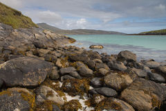 Beautiful beach on the Isle of Barra Royalty Free Stock Photography