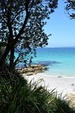Beautiful Beach At Jervis Bay, New South Wales, Australia. Stock Photo
